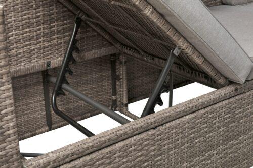 KONIFERA Loungeset Lagos Premium 3er-Sofa 3 Hocker B28364946 ohne Tisch | 28364946 5