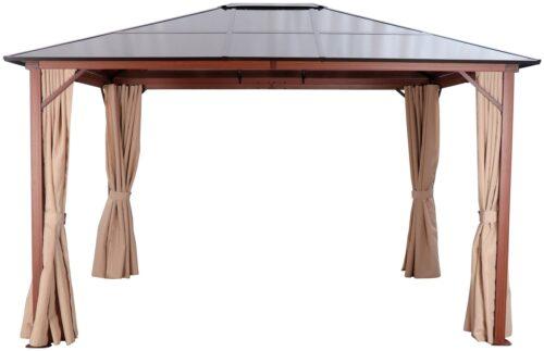 KONIFERA Pavillon Holzoptik mit 4 Seitenteilen BxT:300x365cm B28620052 UVP 629,99€ | 28620052 2