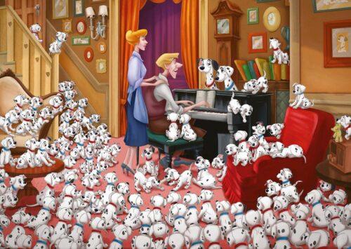 Ravensburger Puzzle Collector`s Edition Disney 1961-101 Dalmatiner 1000 Puzzleteile Made in Germany FSC®-schützt Wald-weltweit B29142517 UVP 13,99€ | 29142517 1