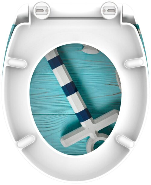 welltime WC-Sitz Anchor mit Absenkautomatik abnehmbar B29580503 UVP 49,99€ | 29580503 5