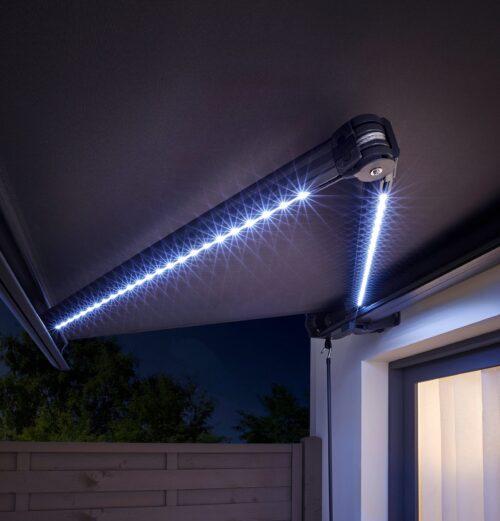 KONIFERA Kassettenmarkise LED Light Breite:395cm Ausfall: 300cm mit LED-Beleuchtung B30118035 UVP 849,99€   30118035 4