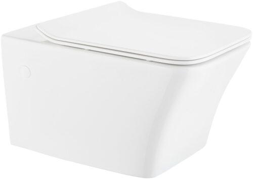 welltime Tiefspül-WC Trento Spülrandloses inkl. WC-Sitz Softclose B31765151 ehemalige UVP 199,99€ | 31765151 1