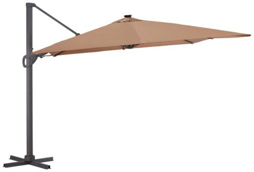 garten gut Ampelschirm Roma de luxe LxB: 400x300cm Solarbetriebener LED Beleuchtung B32340259 UVP 449,99€ | 32340259 1