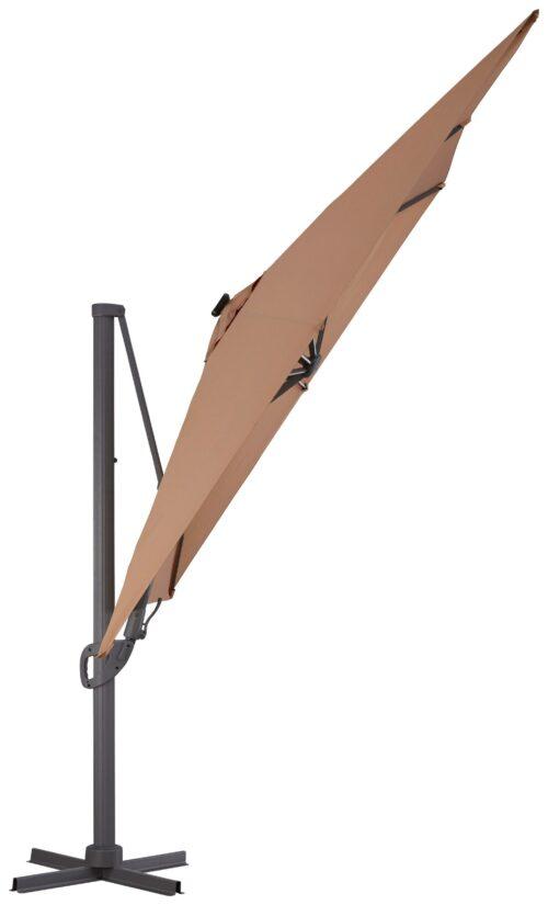 garten gut Ampelschirm Roma de luxe LxB: 400x300cm Solarbetriebener LED Beleuchtung B32340259 UVP 449,99€ | 32340259 2