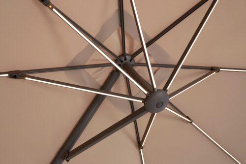 garten gut Ampelschirm Roma de luxe LxB: 400x300cm Solarbetriebener LED Beleuchtung B32340259 UVP 449,99€ | 32340259 6