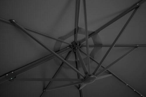 garten gut Ampelschirm Marbella mit Solarbetriebener LED Beleuchtung B33208655 ehemalige UVP 249,99€ | 33208655 5