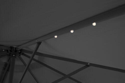 garten gut Ampelschirm Marbella mit Solarbetriebener LED Beleuchtung B33208655 ehemalige UVP 249,99€ | 33208655 7