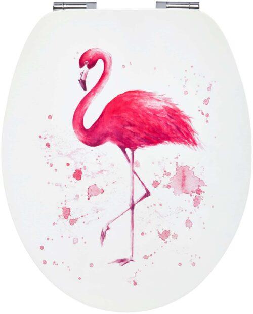 WC-Sitz Flamingo MDF Toilettensitz mit Absenkautomatik B33523842/67818713 ehemalige UVP 44,99€   33523842 2