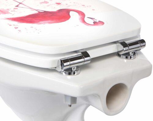 WC-Sitz Flamingo MDF Toilettensitz mit Absenkautomatik B33523842/67818713 ehemalige UVP 44,99€   33523842 5