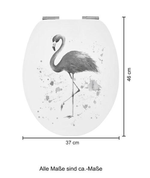 WC-Sitz Flamingo MDF Toilettensitz mit Absenkautomatik B33523842/67818713 ehemalige UVP 44,99€   33523842 6