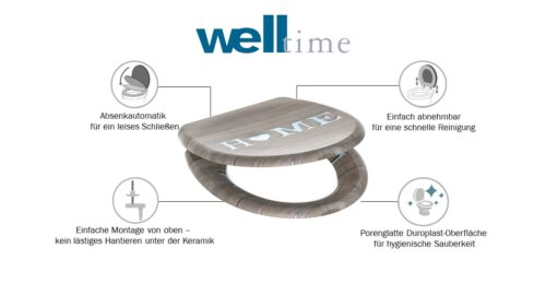 welltime WC-Sitz Home B34451841 UVP 49,99€ | 34451841 6