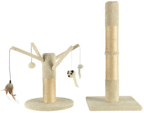 ABUKI Kratzbaum zwei Stämme im Set H: 36/64cm B34497158 UVP 24,99€ | 34497158 1