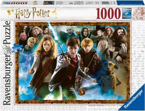 Ravensburger Puzzle Der Zauberschüler Harry Potter 1000 Puzzleteile Made in Germany FSC® - schützt Wald- weltweit B34882312 UVP 13,99€ | 34882312 1