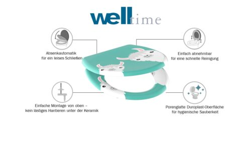 welltime WC-Sitz Lama mit Absenkautomatik abnehmbar B35760047 ehemalige UVP 49,99€ | 35760047 6