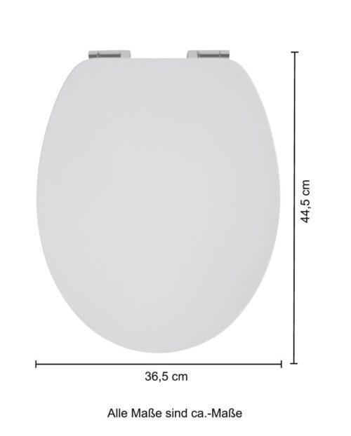 WC-Sitz Mattes Design MDF Toilettensitz mit Absenkautomatik B36497348 ehemalige UVP 49,99€ | 36497348 6