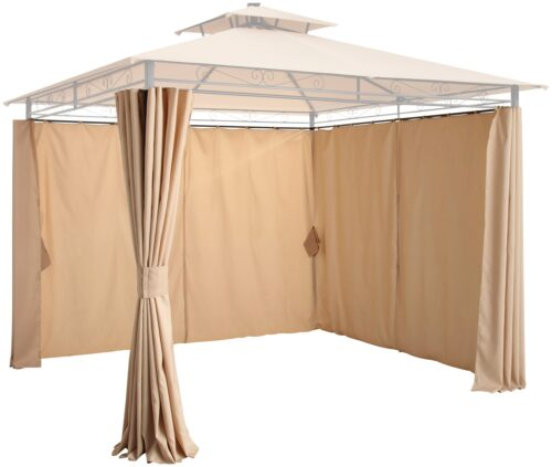 KONIFERA Pavillonseitenteile Palma 4 Seitenteilen für 300x300cm B36949242 UVP 79,99€ | 36949242 1