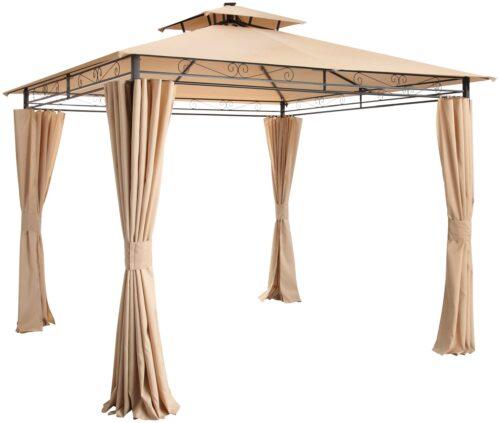 KONIFERA Pavillonseitenteile Palma 4 Seitenteilen für 300x300cm B36949242 UVP 79,99€ | 36949242 2