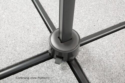 Schneider Schirme Ampelschirm Rhodos Junior ohne Wegeplatten | 37881627 8