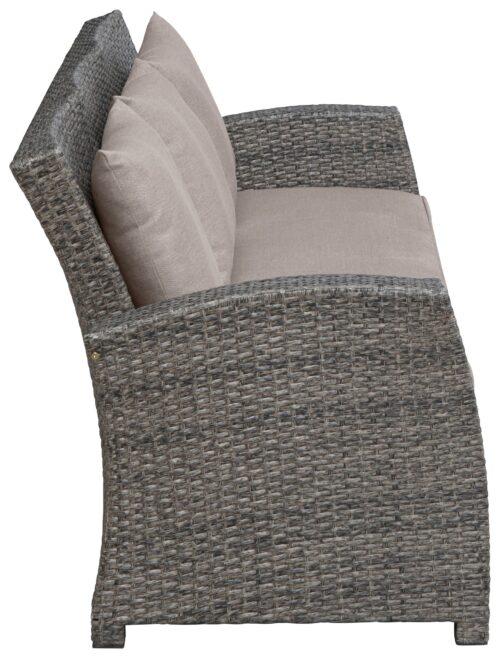 KONIFERA Loungeset Siros 12-tlg. 3-er Sofa 2 Sessel Tisch 135x82cm B38221452 UVP 699,99€ | 38221452 8