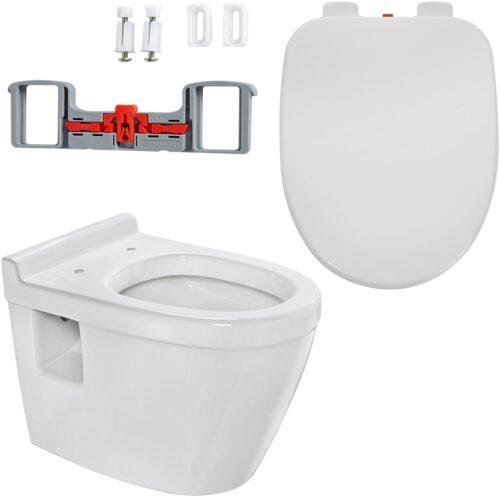 welltime Tiefspül-WC Dover Toilette SoftClose B38326250 ehemalige UVP 199,99€ | 38326250 1