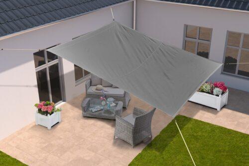 KONIFERA Sonnensegel Viereck 400x500cm B39004021 UVP 59,99€ | 39004021 1