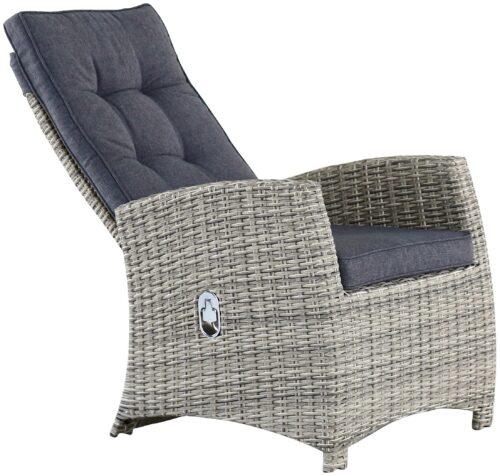 KONIFERA Gartenmöbel Monaco 6 Stühle 2 Hocker B39806415OT | 39806415 2