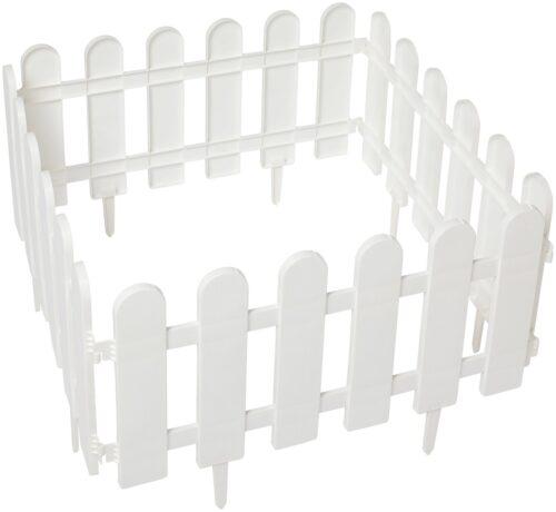 Minizaun Klassik 4 Stück weiß LxH: 240x29 cm B40744408 UVP 13,99€ | 40744408 3