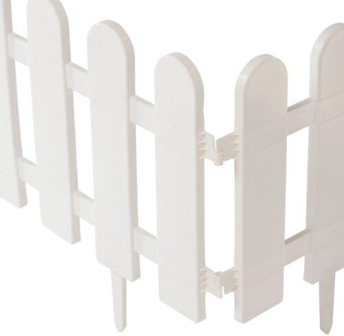 Minizaun Klassik 4 Stück weiß LxH: 240x29 cm B40744408 UVP 13,99€ | 40744408 4