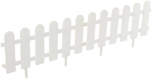 Minizaun Klassik 4 Stück weiß LxH: 240x29 cm B40744408 UVP 13,99€ | 40744408 5