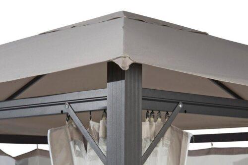 KONIFERA Pavillon Elba 3x3m ohne Seitenteile ohne Moskitonetz B41213319 UVP 249,99€ | 41213319 2
