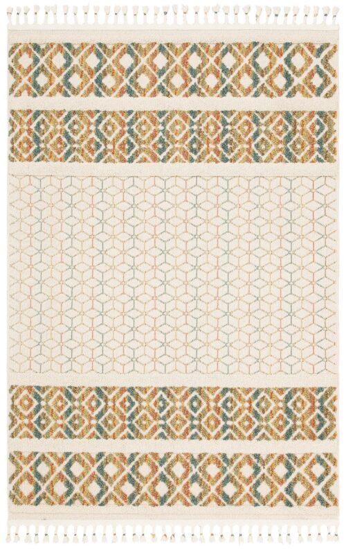 Teppich Arian Home affaire rechteckig Höhe 18mm mit Fransen Wohnzimmer B41443228 UVP 29,99€ | 41443228 2