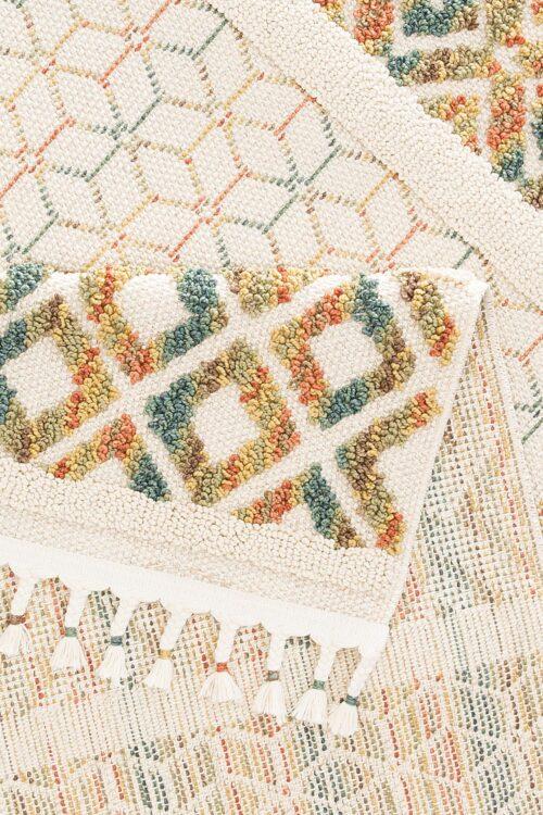 Teppich Arian Home affaire rechteckig Höhe 18mm mit Fransen Wohnzimmer B41443228 UVP 29,99€ | 41443228 3
