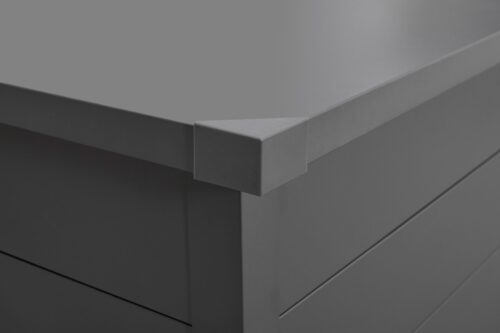 KONIFERA Kissenbox Helsinki Deluxe Stahl B Ware! abschließbar B41454153 UVP 299,99€   41454153 4