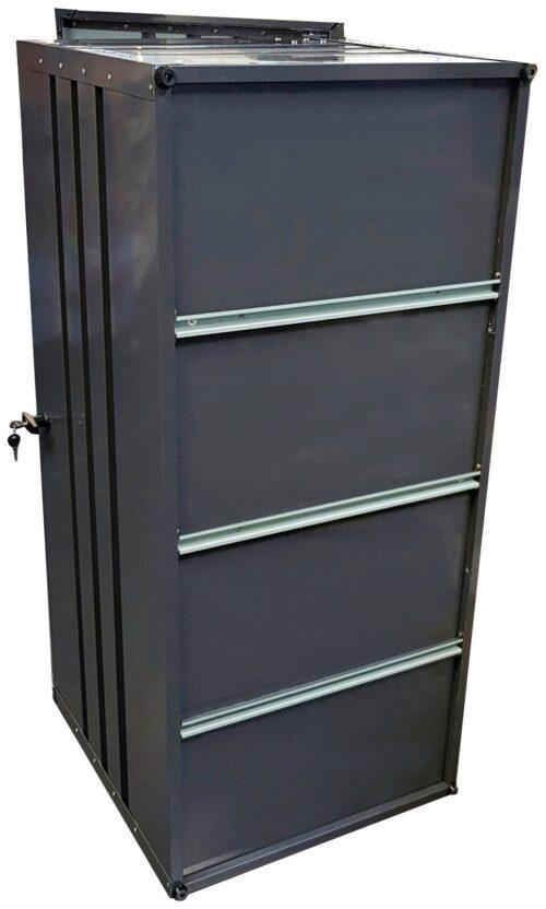 KONIFERA Kissenbox Helsinki Deluxe Stahl B Ware! abschließbar B41454153 UVP 299,99€   41454153 7