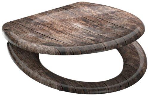 welltime WC-Sitz Used Wood mit Absenkautomatik abnehmbar B42406729 ehemalige UVP 49,99€ | 42406729 1