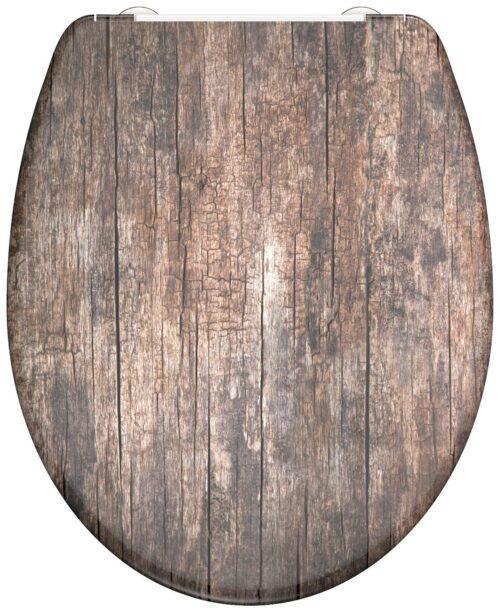 welltime WC-Sitz Used Wood mit Absenkautomatik abnehmbar B42406729 ehemalige UVP 49,99€ | 42406729 2