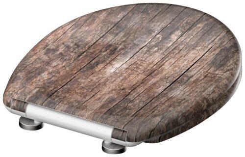 welltime WC-Sitz Used Wood mit Absenkautomatik abnehmbar B42406729 ehemalige UVP 49,99€ | 42406729 3