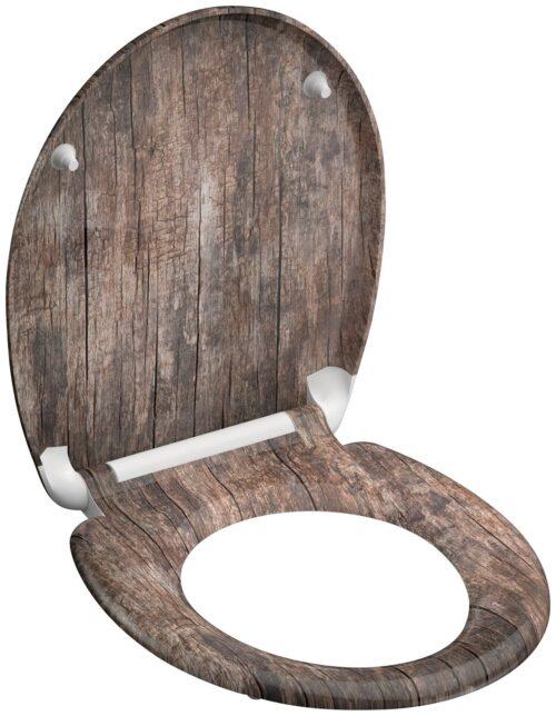 welltime WC-Sitz Used Wood mit Absenkautomatik abnehmbar B42406729 ehemalige UVP 49,99€ | 42406729 4
