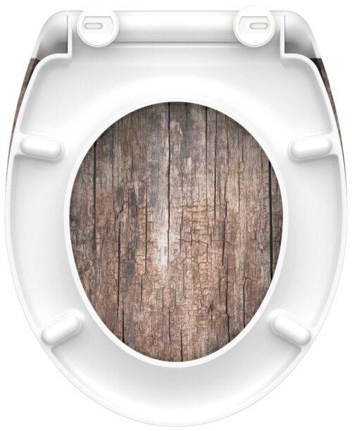 welltime WC-Sitz Used Wood mit Absenkautomatik abnehmbar B42406729 ehemalige UVP 49,99€ | 42406729 5