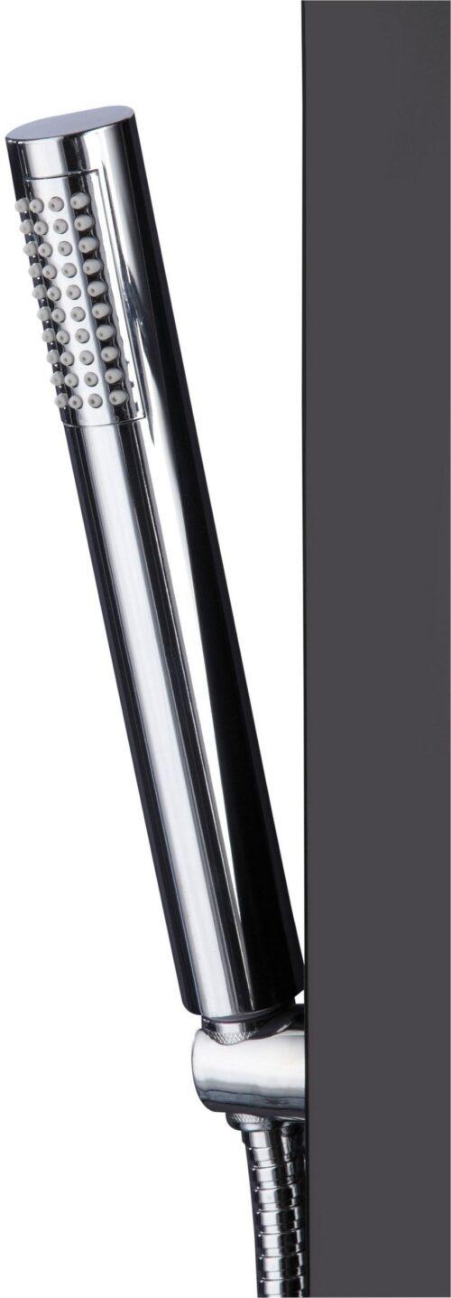 welltime Duschsäule Black Höhe 150cm runde Handbrause & verstellbaren Massagedüsen B42889233 UVP 259,99€   42889233 4