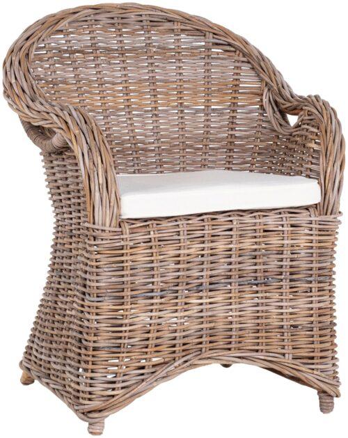 Stuhlset Sumatra 2 Sessel Rattan Akazienholz inkl. Auflagen B43235164   43235164 1