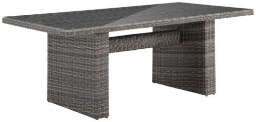 KONIFERA Gartentisch Florenz 13-tlg. Tisch 200x100cm Polyrattan B43337518T | 43337518 1