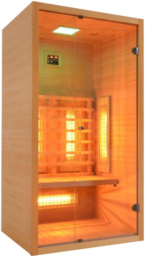 welltime Infrarotkabine 9101C BxTxH:100x90x190cm 40mm B44028841 UVP 849,99€ | 44028841 1