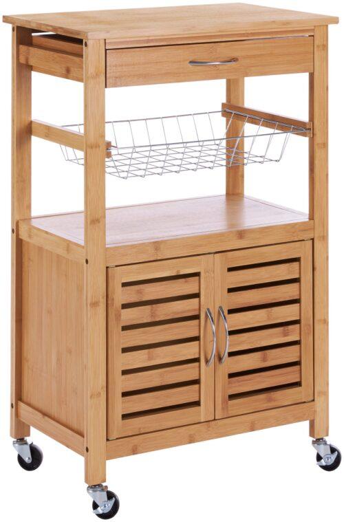 Küchenwagen Servierwagen Bambus B46010847 ehemalige UVP 99,99€ | 46010847 1