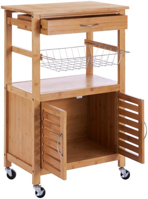 Küchenwagen Servierwagen Bambus B46010847 ehemalige UVP 99,99€ | 46010847 2