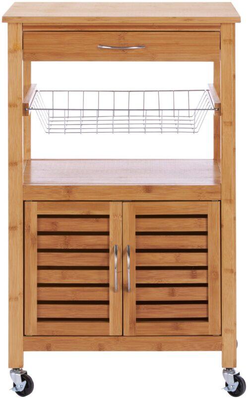 Küchenwagen Servierwagen Bambus B46010847 ehemalige UVP 99,99€ | 46010847 3