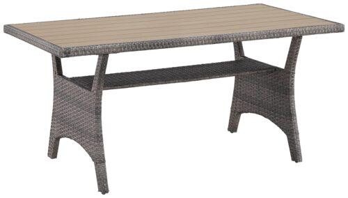 KONIFERA Loungeset Keros Premium Ecklounge 2 Hocker Sessel Tisch 145x75cm Polyrattan B46059830 UVP 799,99€ | 46059830 10