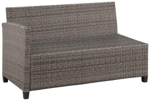 KONIFERA Loungeset Keros Premium Ecklounge 2 Hocker Sessel Tisch 145x75cm Polyrattan B46059830 UVP 799,99€ | 46059830 4