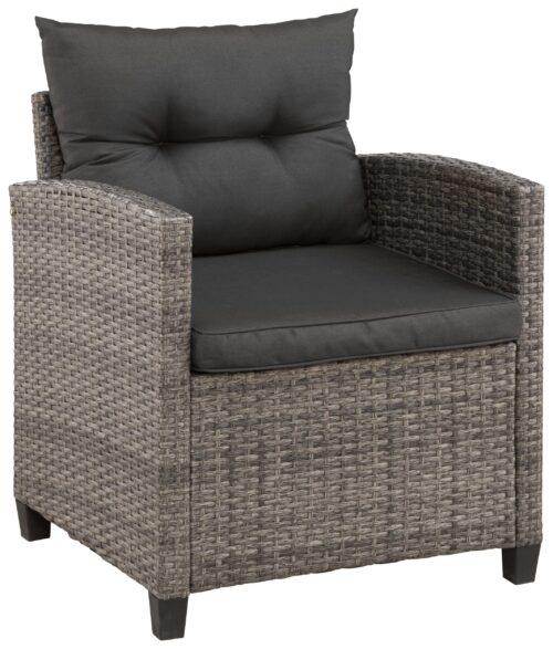KONIFERA Loungeset Keros Premium Ecklounge 2 Hocker Sessel Tisch 145x75cm Polyrattan B46059830 UVP 799,99€ | 46059830 6