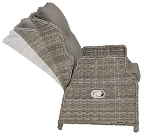 KONIFERA Relaxsessel Premium (1-St) Polyrattan verstellbar inkl. Auflage B46863139 UVP 399,99€   46863139 4